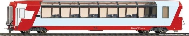 "3289 127 RhB Bp 2537 ""Glacier Express"""