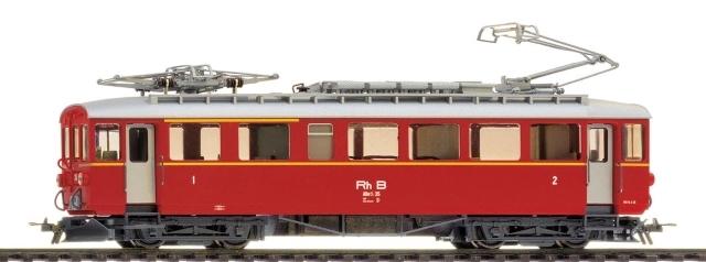 1268 605 RhB ABe 4/4 35 Version Musée Blonay-Chamby