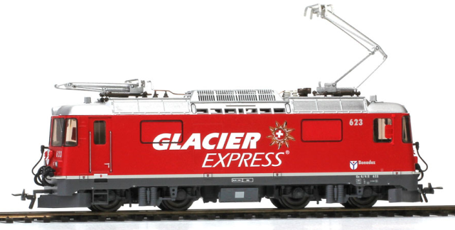 "1258 183 RhB Ge 4/4 II 623 ""Glacier Express"""