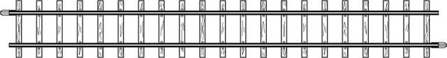 4281000  Rail droit, 162,3 mm