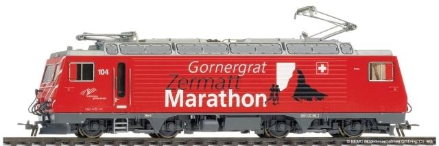 "1262 294 MGB HGe 4/4 II 104 ""Gornergrat Zermatt Marathon"""