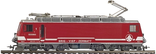 """1262 511 BVZ HGe 4/4 1 """"Matterhorn"""""""
