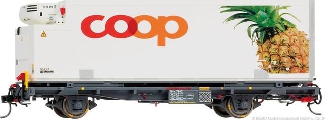 "9469112  RhB Lb-v 7862 conteneur COOP ""Ananas"" Om"