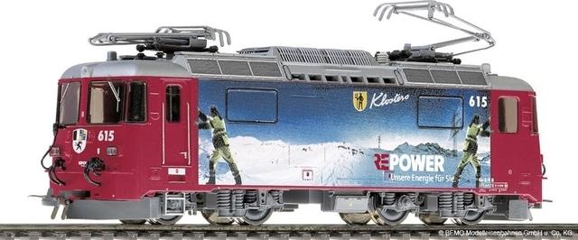 """1258155  RhB Ge 4/4 II 615 """"RE Energie"""""""