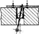 4425001  Tringles d'aiguillage pour moteur sous table (5 pièces)