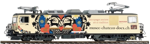 "1280 321  MOB GDe 4/4 6001 ""musee-chateau-doex.ch"""