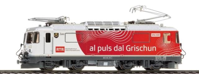 """1258 173 RhB Ge 4/4 II 633 """"RTR"""""""