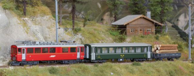 """7268 121 Set de départ """"Bernina Bahn"""" avec ABe 4/4 I"""