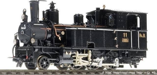 """1295121  RhB G 3/4 11 """"Heidi"""" """"Métal Collection"""""""