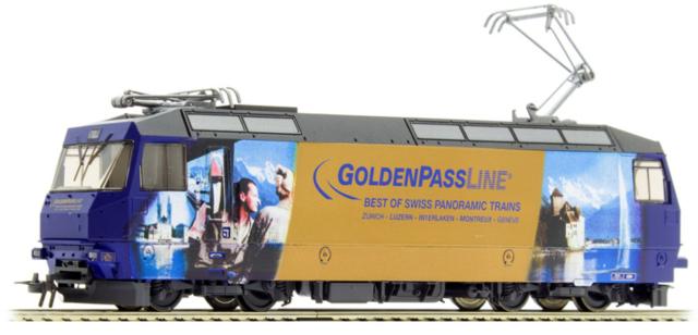 1659 334 MOB Ge 4/4 8004 HO 2 rails