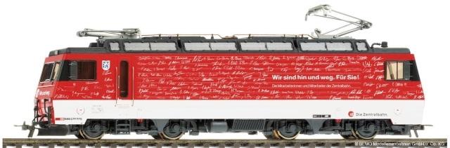 "1262477  zb HGe 4/4 101 967 "" Hin und weg """