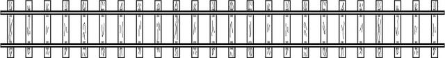 4294037  Rail droit, 166 mm