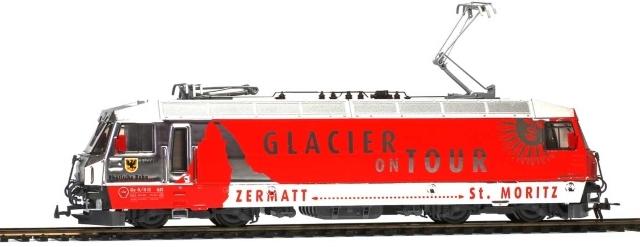 "1259161  RhB Ge 4/4 III 651 ""Glacier on Tour"""