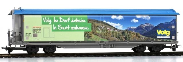 "2588 167 RhB 5173 Volg ""Sent"" HO 3 rails"