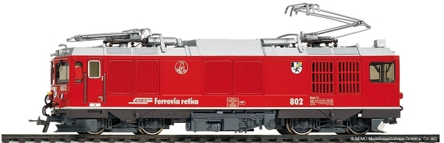 "1267121  RhB Gem 4/4 801 ""Steinbock"" refit"