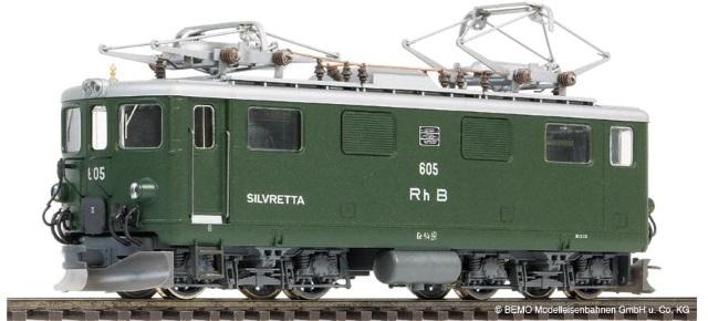 """1250 105 RhB Ge 4/4 I 605 """"Silvretta"""""""
