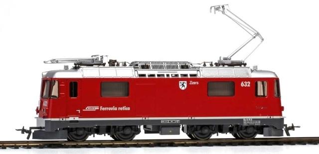 "1258 172 RhB Ge 4/4 II 632 ""Zizers"""