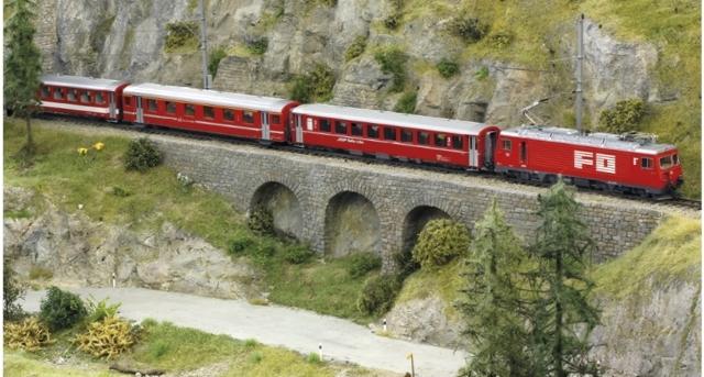7262 210 Set de départ FO Glacier Express années 80