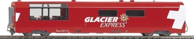 """3289 132 RhB WR 3832 """"Glacier Express"""""""