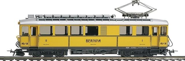 1268160  RhB ABe 4/4 30 Nostalgietriebwagen Bernina