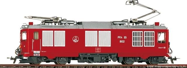 """1267102  RhB Gem 4/4 802 """"Murmeltier"""""""