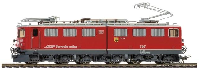 """1254 147 RhB Ge 6/6 II 707 """"Scuol"""""""
