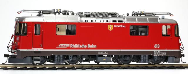 "9258 153 RhB Ge 4/4 II 613 ""Domat Ems"" phares rectangulaires Om"