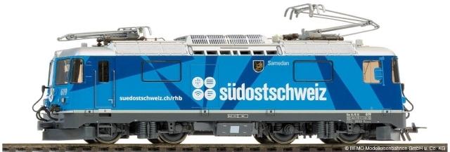 "1258 179 RhB Ge 4/4 II 619 ""Südostschweiz"""